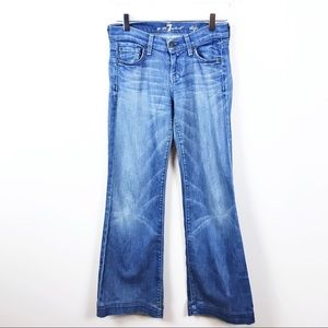 7FAM | Dojo Flare Stitched Jeans